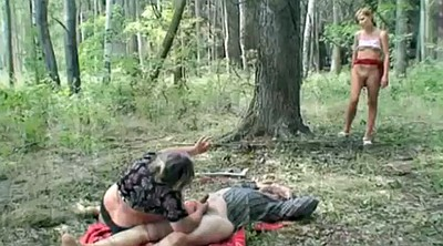 Couple threesome, Mature lick, Granny outdoor, Granny couple