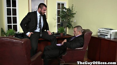 Office gay, Muscle gay, Uniform gay