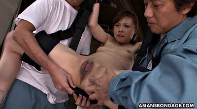 Asian bondage, Tied, Asian squirt, Fingering squirt