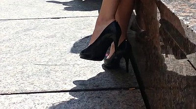 Upskirt, Shoe, Foot fetish