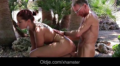 Big ass, Granny anal, Seduced