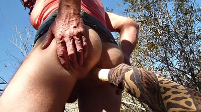 Crossdresser, Outdoor masturbation, Crossdress, Crossdressers
