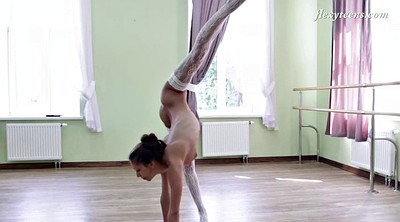 Solo teen, Flexible, Ballerina, Teen stockings, Flexible solo