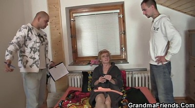 Wife share, Old granny, Wife sharing, Delivery, Wife shared, Shared wife