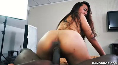 Monster, Asian pov, Small cock, Sitting, Black big tits, Big monster
