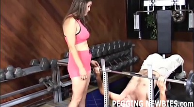 Pegging, Bisexual, Strapon pegging, Femdom pussy licking, Femdom pussy, Pegged