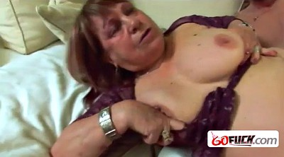 Mature tits, Lucky guy