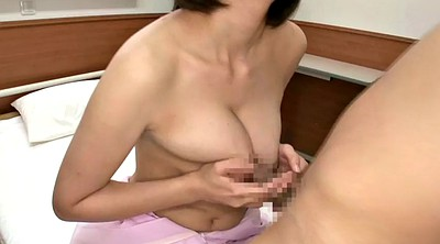 Asian big, Japanese nurse, Facial japanese