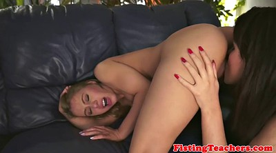 Pussy fisted, Hairy lesbians