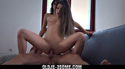 Swallow, Share, Old cum, Old granny
