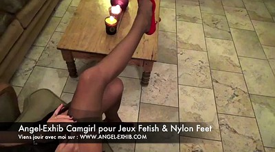 Nylon, Nylon foot, Nylons feet, Nylons