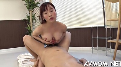 Japanese mature, Japanese three, Mature blowjob, Mature asian
