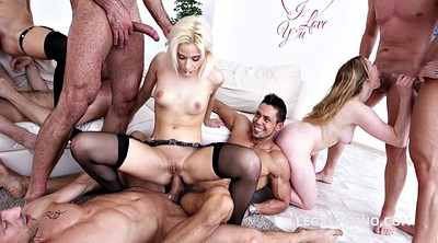 Creampie, Deep anal, Double anal
