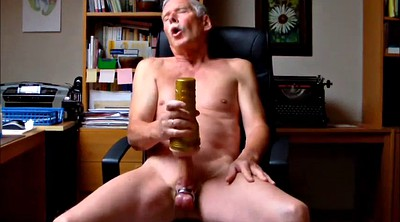 Mature gay, Gay mature, Dildo riding