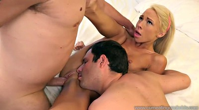 In front of, In front of husband, Bisexual husband, Bisexual cuckold, Katerina kay, Katerina