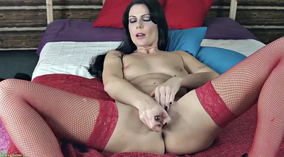 Nice, Stockings solo, Red