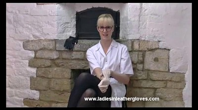 Gloved, Glove, Gloves, Secretary, Leather leggings