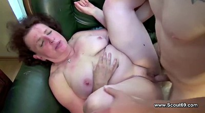 Mom boy, German bbw, Mom fuck, Bbw mom, All holes, Mom caught