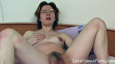 Glasses, Mature anal