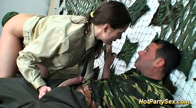 Soldier, Soldiers, Military, Deep throat cum