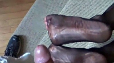 Mature feet, Milf footjob
