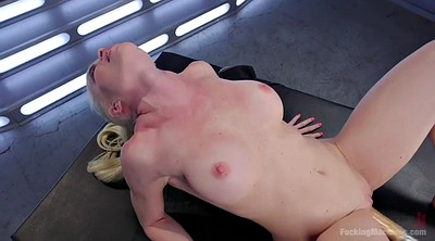 Machine, Booty, Chubby masturbation, Blondie