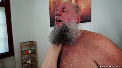 Old grandpa, Grandpa grandpa, Old massage, Massage table