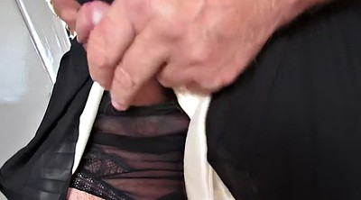 Flashing, Dress, Nylon cock, Dressing