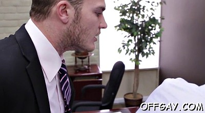 Gay, Office anal, At work