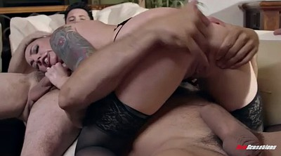 Wife gangbang, Wife double penetration, Double vaginal