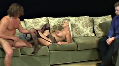 Watching, Cuckold orgasm