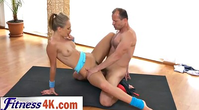 Fitness, Licking pussy, Sports, Pussy oral