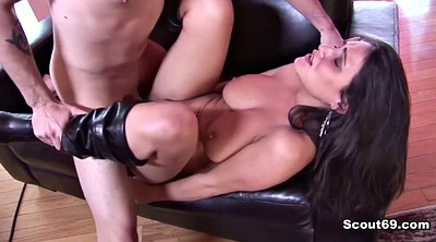 Mother son, Step son, Son caught, Caught masturbating, Young mother, German blowjob
