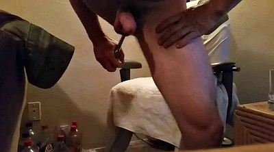 Milk, Big ass dildo