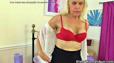 Granny, Mature nylon