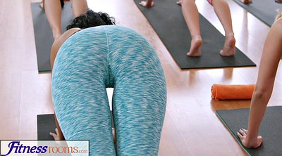 Czech, Yoga, Czech creampie, Yoga sex, Fitnessrooms, Sweaty