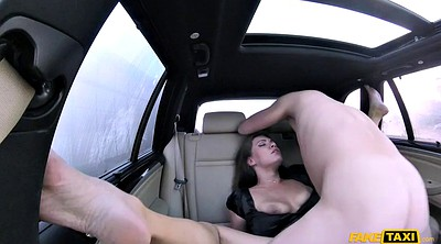 Woman, In the car