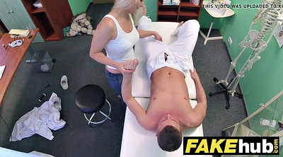 Czech massage, Fake, Hospital, Fake hospital, Fake doctor, Milf doctor