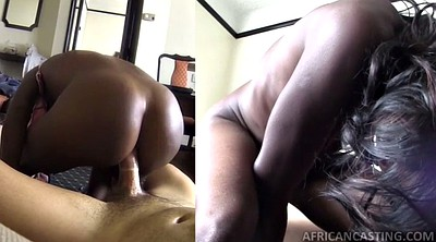 Casting anal, Good, Black anal