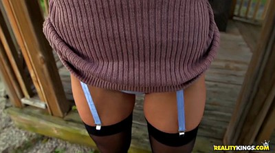 Layla london, London, Stockings solo, Short, Teen stocking, Stockings teen