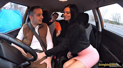 Car, Jasmine jae, Sex in car, Jae, Drive, Big cock sex