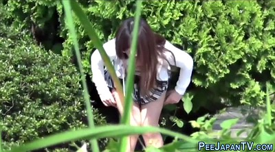 Japanese voyeur, Urine, Whore, Japanese public, Japanese outdoor, Urination