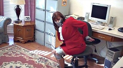 Bound, Pantyhose milf, Mature pantyhose, Bound gagged