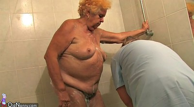 Saggy, Old young, Old and young, Grandma, Hairy bbw, Granny masturbation