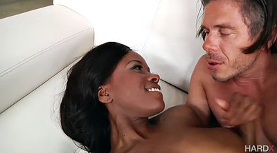 First, Black anal, First time anal, White hair, Ass licking, Long time