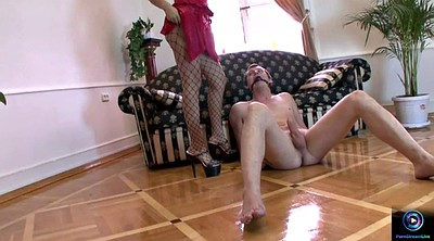 Julia, Slave foot, Foot anal