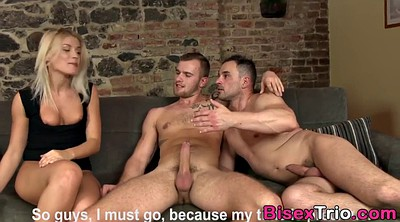 Bisexual, Anal threesome