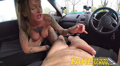 School, Fake school, Messy, Driving school, Fake creampie