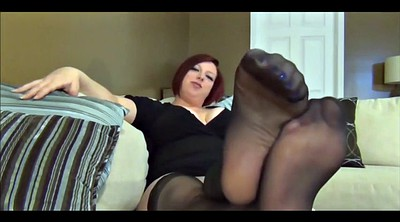 Foot, Baby, Stockings, Bbw foot