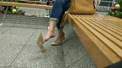 Shoe, Shoes, Mom foot, Milf cam, Mom hidden